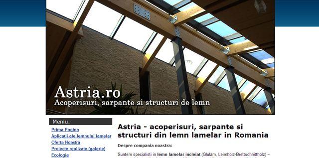 constructii din lemn lamelar