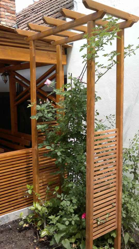 mobilier terasa foisoare lemn