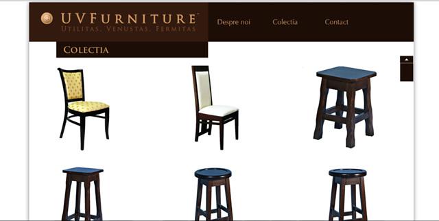 scaune curbate lemn masiv